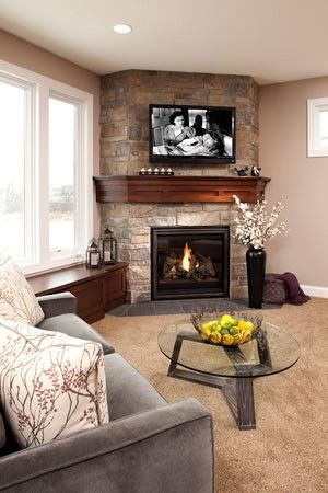 Ideas para decorar una chimenea