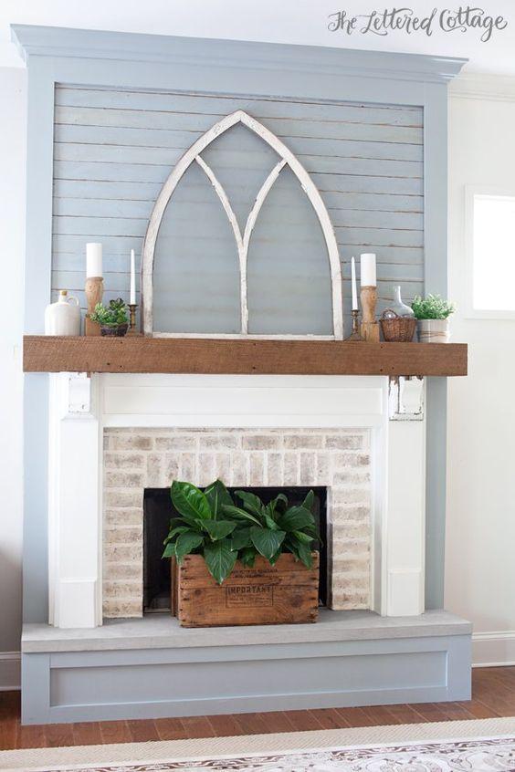 Ideas para decorar una chimenea curso de organizacion - Poner chimenea piso ...