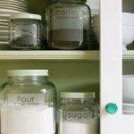 Ideas para organizar con frascos de vidrio