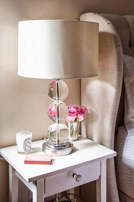 Lamparas para decorar tu mesa de noche 22 curso de - Lamparas para mesitas de noche ...