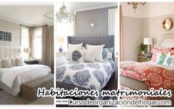 Los mejores 32 diseños de cuartos matrimoniales