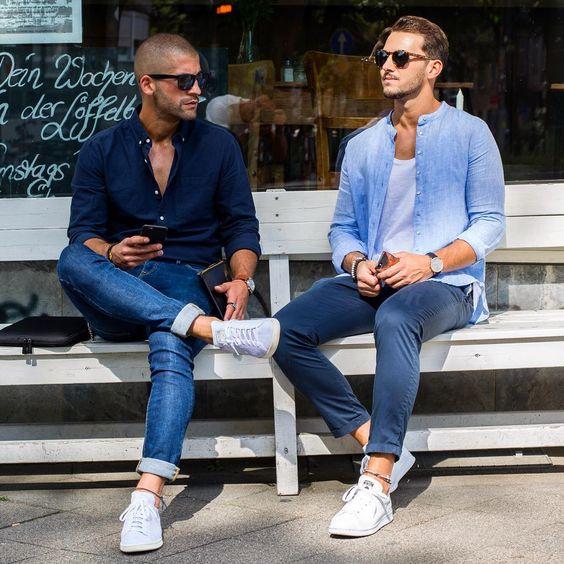 50c0b823f Outfits casuales para hombres - Curso de Organizacion del hogar y ...