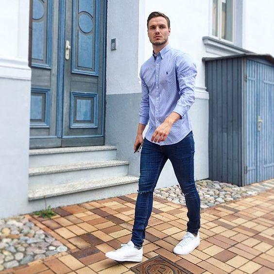Outfits-casuales-para-hombres (4) - Curso de Organizacion del hogar y Decoracion de Interiores