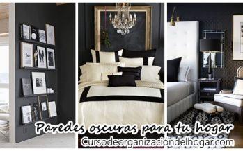 Realza la decoración de tu casa con paredes oscuras ¡Te encantará el resultado!