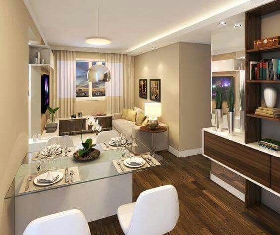 Sala comedor en un condominio pequeno 12 curso de for Sala cocina y comedor en un solo ambiente pequeno