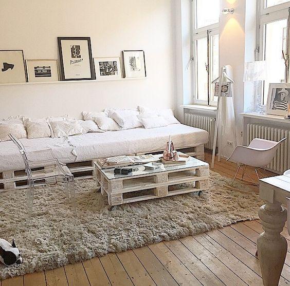 25 espacios decorados con palets de madera 15 curso de On espacios decorados