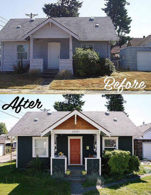 27 casas antes y despues remodelaciones sorprendentes 13 for Renovated homes before and after photos