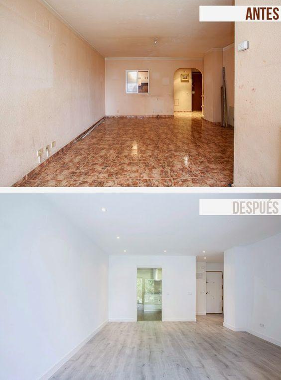 27 casas antes y despues remodelaciones sorprendentes 23 curso de organizacion del hogar y - Decoracion de casas antes y despues ...