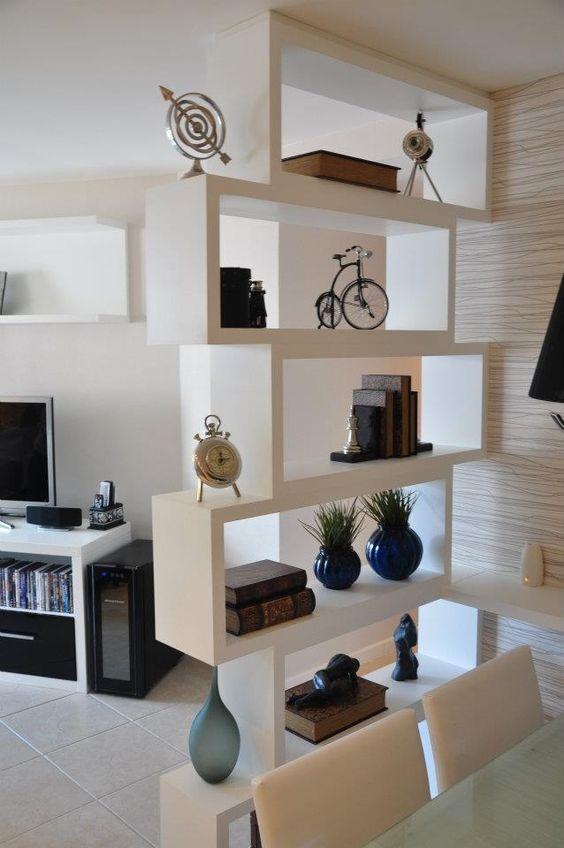 27 prácticas ideas para dividir espacios en casa