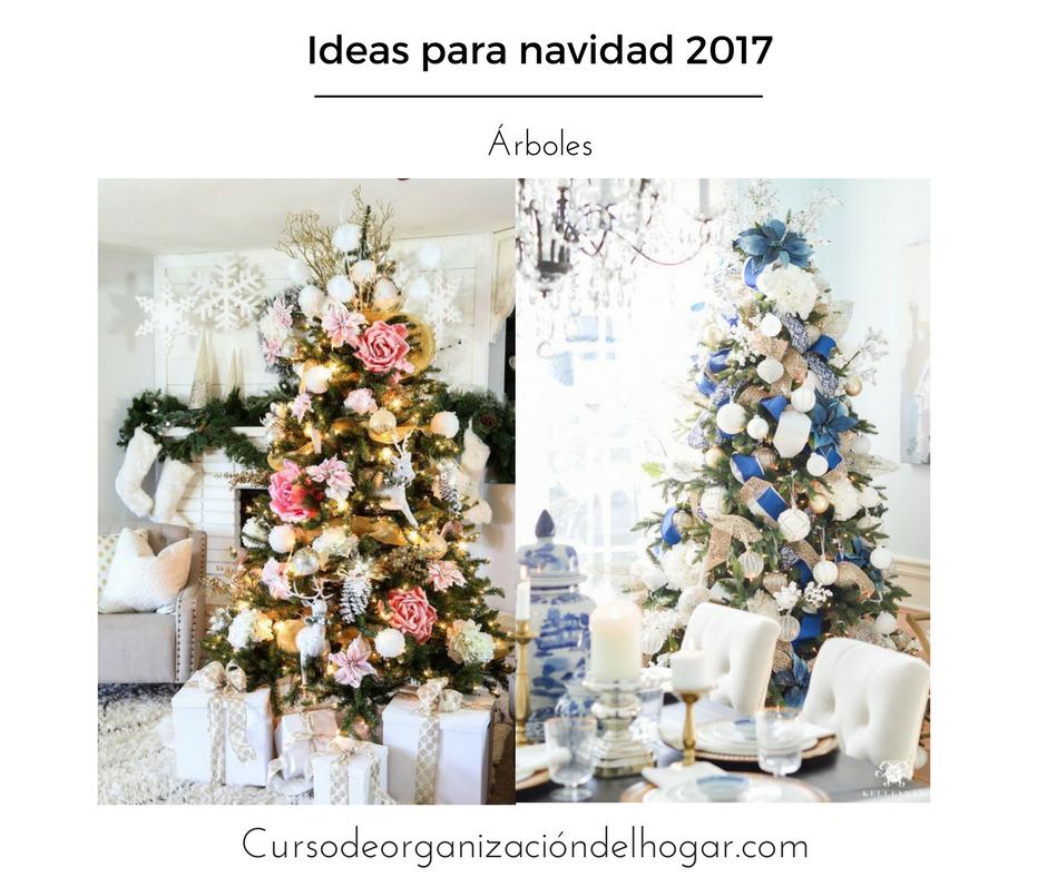 Arboles de navidad 2017 2018 curso de organizacion del hogar y decoracion de interiores - Decoracion de navidad 2017 ...