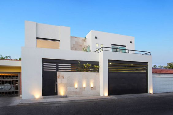 Bardas para casas en diferentes estilos