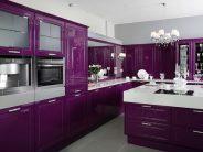 Cocinas color morado