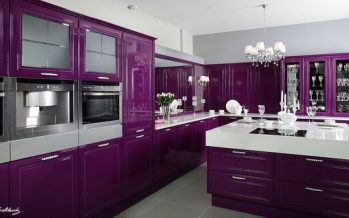 Cocinas color morado