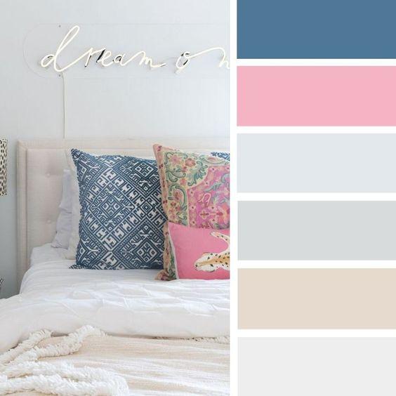 Combinacion de colores para recamaras curso de for Combinacion de colores en decoracion