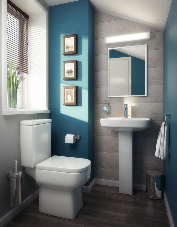 Como decorar un baño pequeño y sencillo