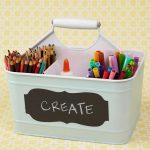 Como organizar útiles escolares