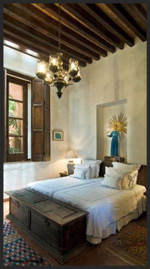 Decoración de dormitorios estilo mediterraneo