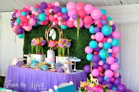 Decoración con globos 2017
