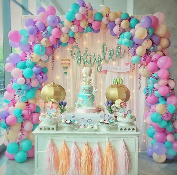 Decoracion con globos 2017 25 curso de organizacion for Decoracion con globos
