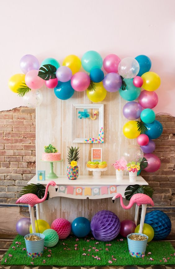 Decoracion con globos 2017 8 curso de organizacion del for Decoracion hogar 2017