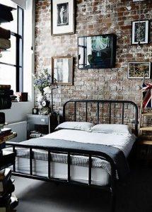 Decoracion de dormitorios estilo industrial