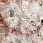 Decoraciones navideñas 2017 en rose gold