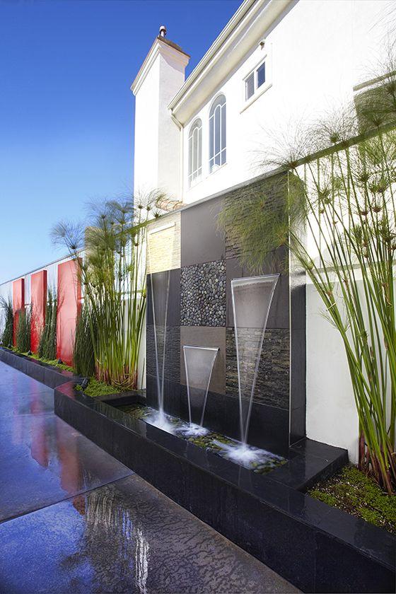 Tipos de bardas para casas - Fuentes de pared modernas ...