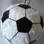 Fiesta infantil con tema de fútbol