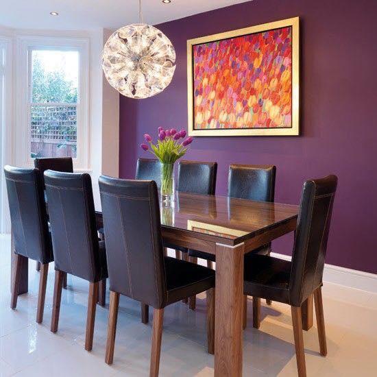 Ideas de decoraci n de interiores color morado curso de organizacion del hogar y decoracion de - Decoracion de interiores cursos ...