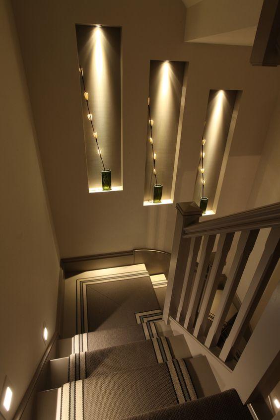 Ideas de escaleras para casas grandes y pequenas 3 for Escaleras interiores de casas pequenas