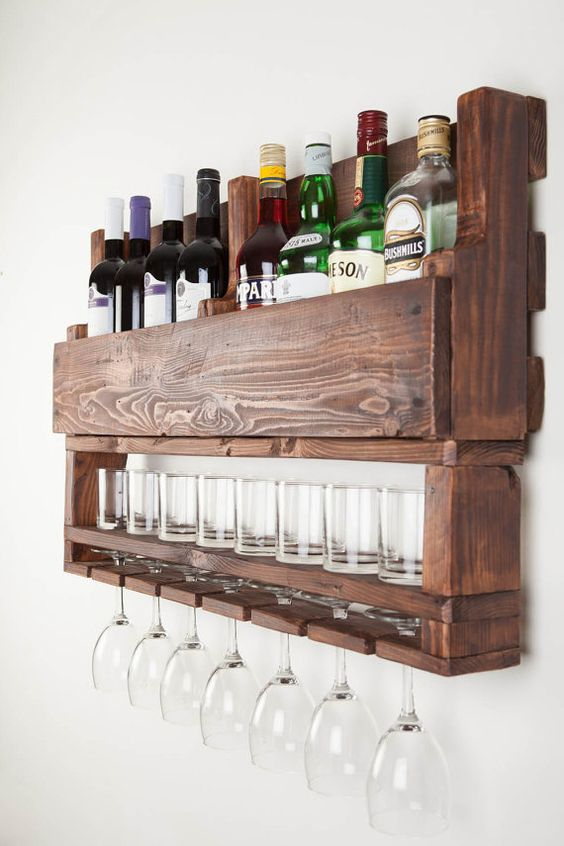 Ideas para montar un mini bar moderno en tu casa 15 for Ideas originales para casa