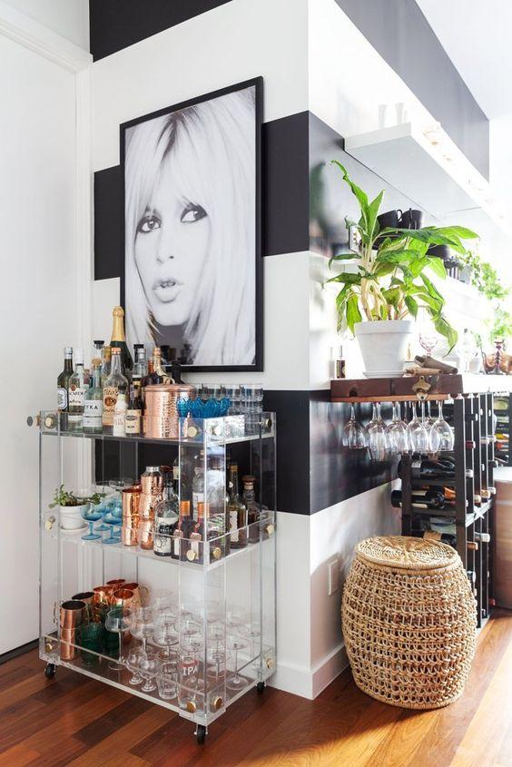 Ideas Para Montar Un Mini Bar Moderno En Tu Casa Curso De - Bar-en-casa-decoracion
