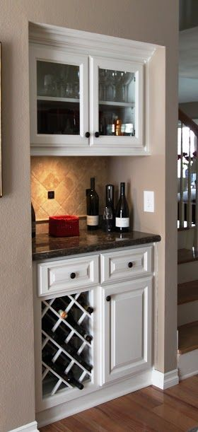Ideas para montar un mini bar moderno en tu casa 22 - Ideas para montar un bar ...