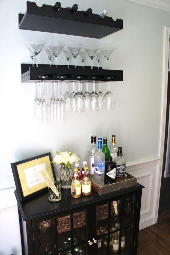 Ideas para montar un mini bar moderno en tu casa 27 - Montar un servidor en casa ...