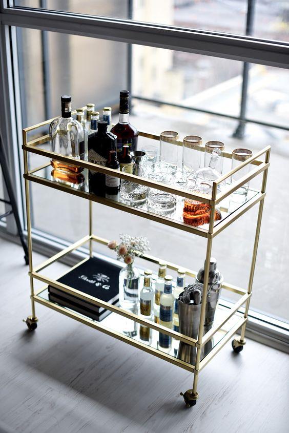 Ideas para montar un mini bar moderno en tu casa 4 curso de organizacion del hogar y - Ideas para montar un bar ...
