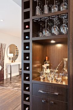 Ideas para montar un mini bar moderno en tu casa 5 - Ideas para montar un bar ...