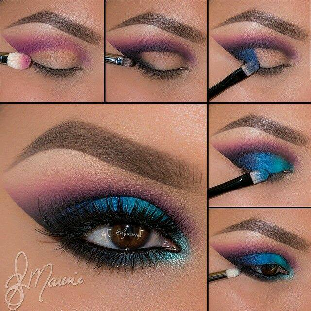 Maquillaje en tonos turquesa curso de organizacion del for Decoracion en tonos turquesa