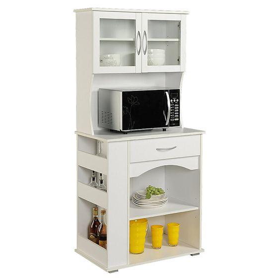 Mira estos 25 muebles de cocina para colocar tu microondas for Muebles de cocina 25 cm