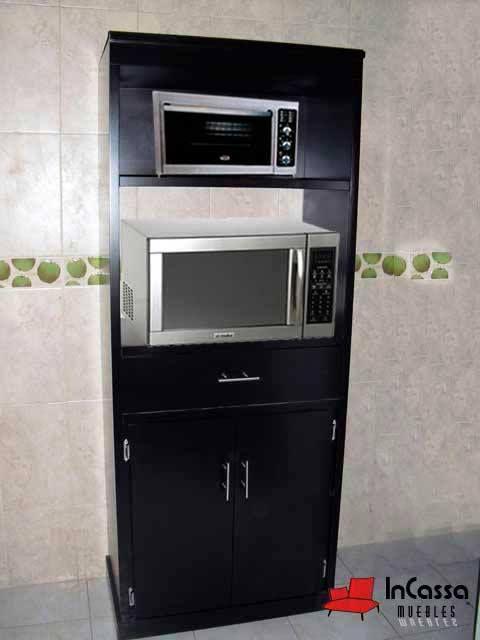 mira-estos-25-muebles-de-cocina-para-colocar-tu-microondas (17 ...
