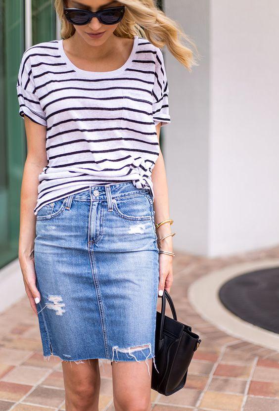 469d4c487 outfits-de-verano-con-faldas-de-mezclilla (14) - Curso de ...