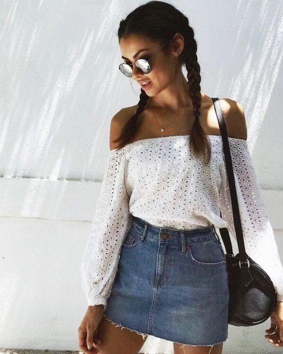 b108479f1 outfits-de-verano-con-faldas-de-mezclilla (19) - Curso de ...