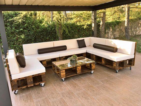 terrazas decoradas con pallets - Terrazas Decoracion