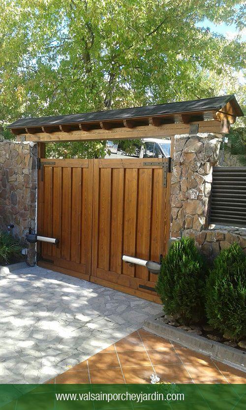 Tipos de bardas para casas for Imagenes de garajes rusticos