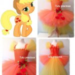 Tutus para fiesta infantil de my little pony
