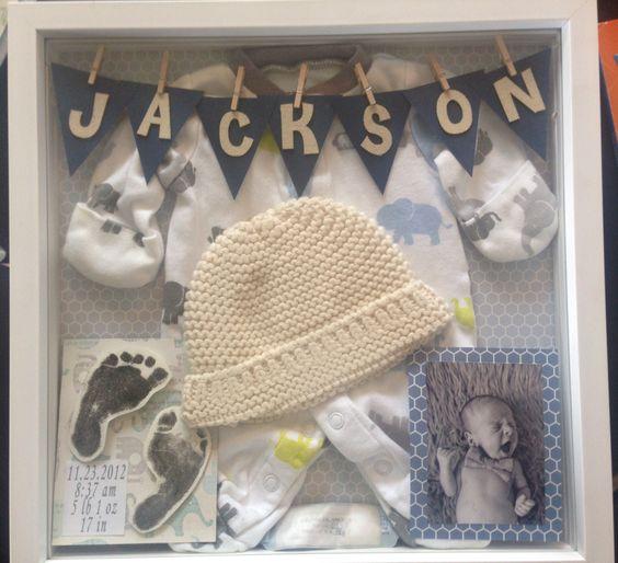 25 Ideas para guardar los primeros recuerdos de tu bebe