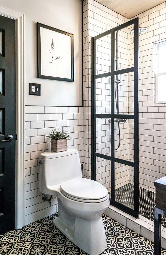 Ideas de distribución para baños pequeños