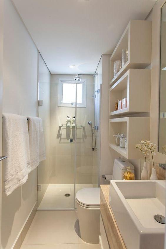 Ideas de color para baños pequeños