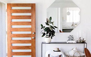 27 ideas inspiracionales para dar la bienvenida en una casa pequeña