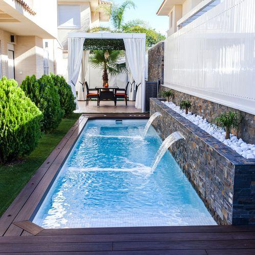 Albercas y jacuzzis peque os que te van a gustar para tu patio - Mini pool fur balkon ...