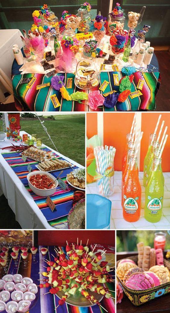 Ideas Decorativas Para Baby Shower.Baby Shower Estilo Mexicano 12 Curso De Organizacion Del